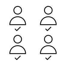 Candidate, Competitor Vector Icon Which Can Easily Modify Or Edit