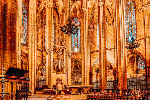 Fototapeta Inside Cathedral