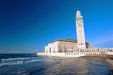Hassan II Mosque by the Atlantic Ocean