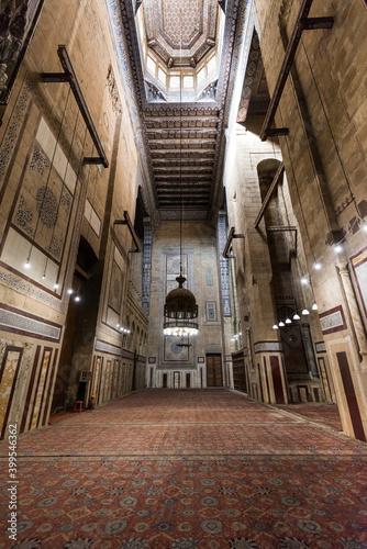 Canvas Print Interiors of the Mosque of Al Rifai (Al-Refai, Al-Refa'i or the Refaai Mosque),