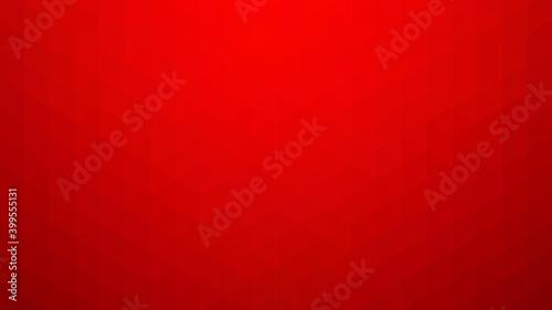 Vászonkép Abstract red geometric background