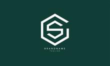 Alphabet Letters Initials Monogram Logo GS, SG, G And S