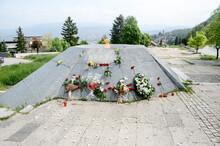 Vraca Memorial Park, Sarajevo, Bosnia And Herzegovina. Partisan Memorial Park. World War Two Monument WWII.
