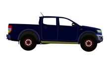 Ford Raptor Vector Image