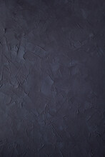 Dark Painted Surface Of Putty  Wall Background