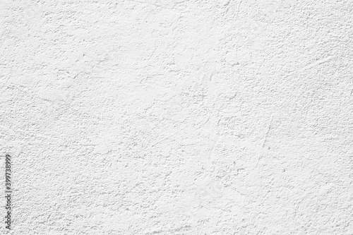 Fototapeta White cement texture stone concrete,rock plastered stucco wall; painted flat fade pastel background white grey solid floor grain. Rough top white obraz