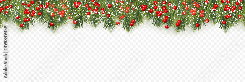 Papel de parede Festive Christmas or New Year Background