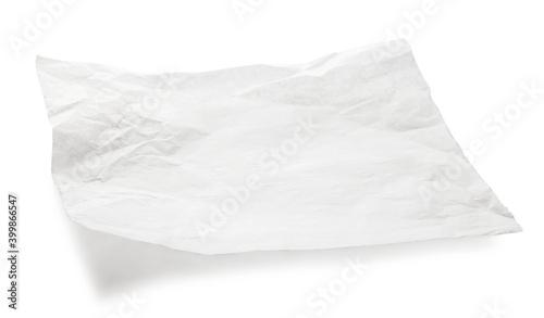 Canvastavla white baking paper sheet