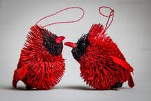 Love Birds, Couple Of Cute Handmade Decorations