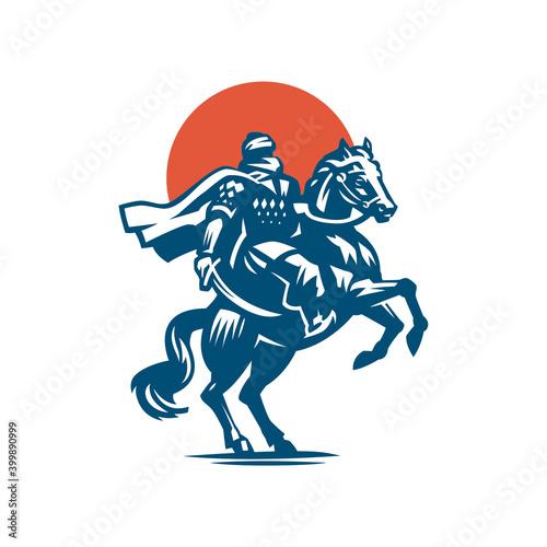 Slika na platnu Male warrior on the horse