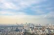 【六本木ヒルズより】東京都内、都市景観/新宿副都心方面