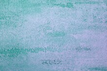 Pretty Grunge Teal, Sea-green Limestone Like Plaster Texture For Use As Background.