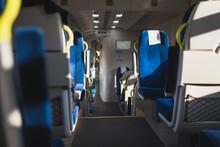 Railway Workers Strike - Empty Train Car Without Passengers - Lockdown