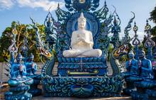 Chiang Rai Wat Rong Suea Ten Thailand Asia