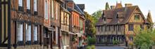 The Village Of Beuvron-en-auge, Normandy, France