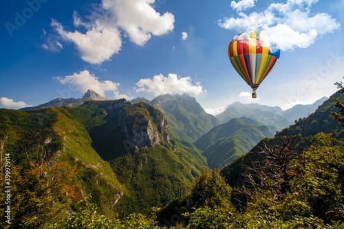 Foto hot air balloon