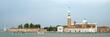 Panoramic view at San Giorgio Maggiore island, Venice, Veneto, Italy