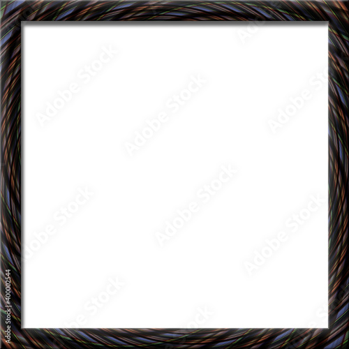 Fotografie, Obraz Abstract background illusion hypnotic illustration, art deceptive