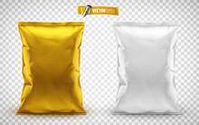 Emballages De Chips De Pomme De Terre Vectoriels Sur Fond Transparent