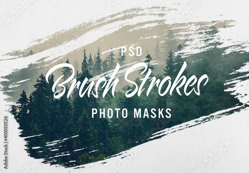 Obraz Image Design Brush Stroke masks - fototapety do salonu