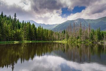 góry Tatry - Smreczyński Staw