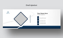 Modern Corporate Email Signature  Template