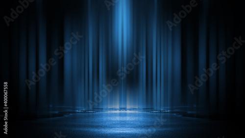 Light effect, blurred background Fototapet