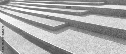 Valokuvatapetti Abstract stairs in black and white