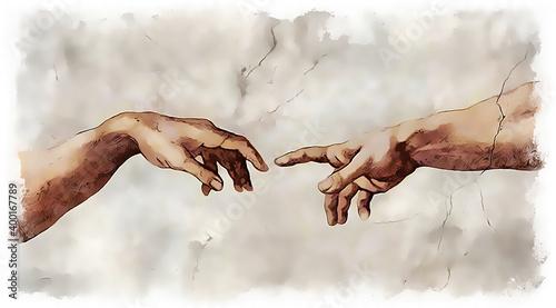 Fotografia The human touch