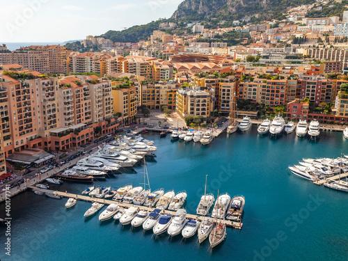 Canvas Print Monte Carlo, Monaco, October 13, 2019