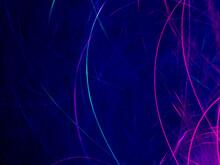 Background Of Abstract Glitter Lights. Pink, Blue, Black. De Focused. Glitter Vintage Lights Background. Abstract Glitter Red, Purple, Violet Lights Background. De-focused. Banner.