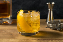 Boozy Refreshing Rusty Nail Cocktail