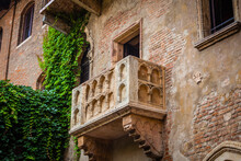Romeo And Juliet Balcony, Verona Old Town, Veneto Region, Italy