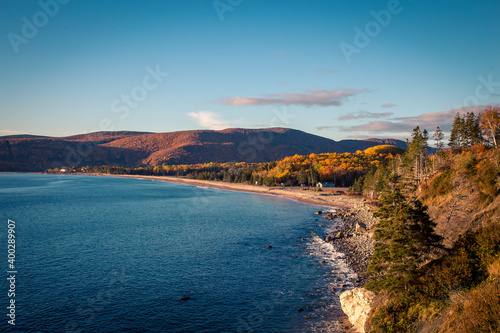 Leinwand Poster cove in Cape Breton Nova Scotia