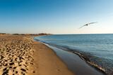 Fototapeta Fototapety z morzem do Twojej sypialni - La Plage Sud de Canet en Roussillon, Perpignan, France
