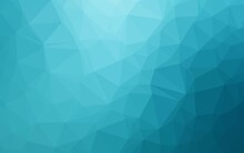 Light BLUE Vector Abstract Mosaic Background.