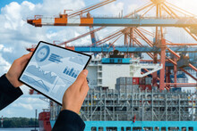 Port Manager With Digital Tablet
