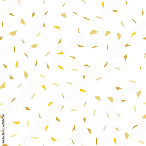 Canvas-taulu Golden falling confetti