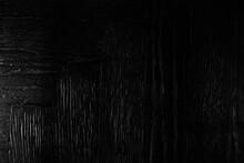 Ebony Background Charcoal, Wooden Vintage Loft Texture Black