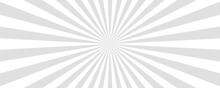 Sun Rays Vector Background. Sun Beam, Burst Effect. Sunbeam Light Boom Template. Vector Illustration.