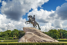 Equestrian Statue Of Peter The Great, Saint Petersburg, Russia