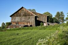 Old Barn Falling Down