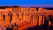 Sun Rise At Bryce Canyon