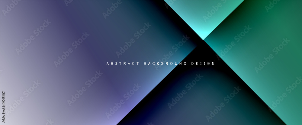 Fototapeta Fluid gradients with dynamic diagonal lines abstract background. Bright colors with dynamic light and shadow effects. Vector wallpaper or poster