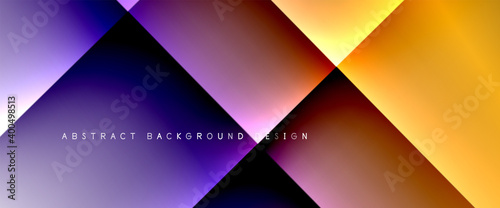 Photo Fluid gradients with dynamic diagonal lines abstract background