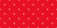 Red Wallpaper Background, Pattern With Stars For Seamless Textures. Ideal For Fabrics, Covers, Posters, Wallpapers. Vector Background Image