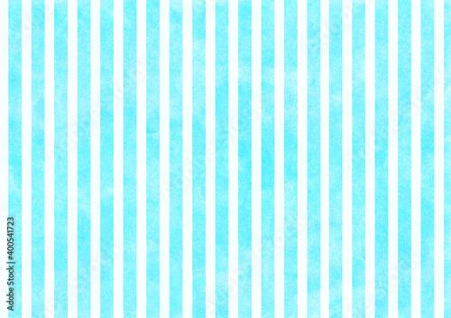 Obraz 空色と白のストライプ背景 - fototapety do salonu