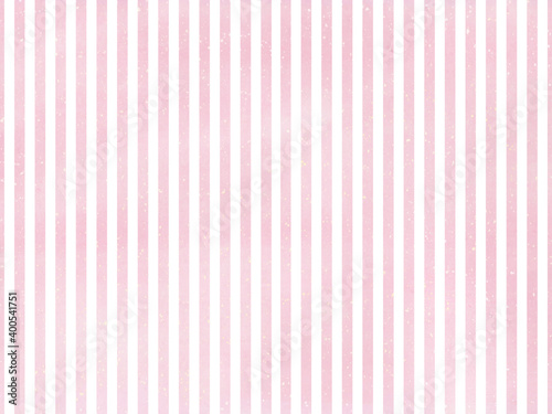 Obraz 優しくかわいいピンク×白の細ストライプ背景 - fototapety do salonu
