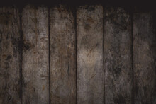Empty Old Wooden Background. Vintage Color Of Wooden Texture.