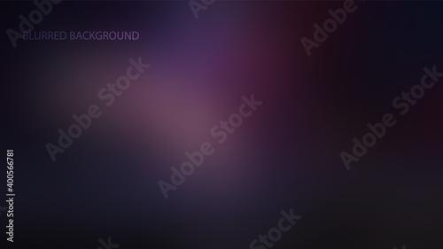 Fototapeta Purple, dark blurred background vector illustration obraz